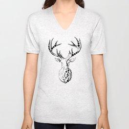 Dot Deer Unisex V-Neck
