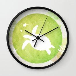 Ocean Series - Mama Turtle Wall Clock