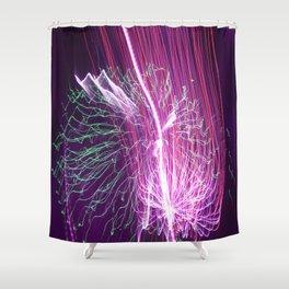 The Light Show Shower Curtain