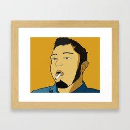 Stoner Framed Art Print