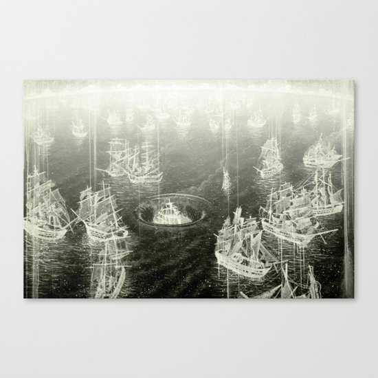"""Fog Bank"" Canvas Print"