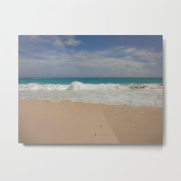 Beautiful Beach Bermuda 3 Metal Print