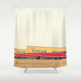 CIRCUS RENZ _1 Shower Curtain