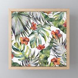TROPICAL GARDEN 5 Framed Mini Art Print