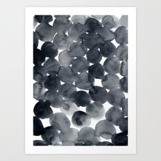 Watercolour Dots 01 Art Print