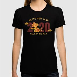 happy new year 2020 year of the rat 1 T-shirt