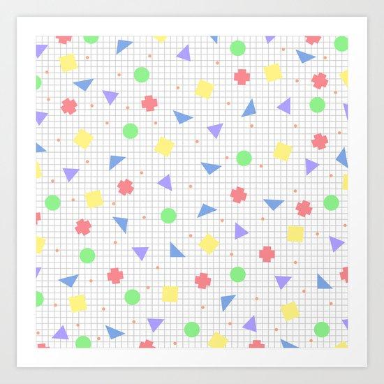 Confetti V2 Art Print