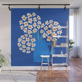 Abstraction_FLORAL_Blossom_001 Wall Mural