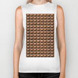 Chocolate Bar Overhead Biker Tank