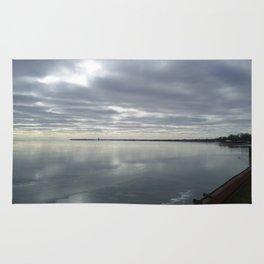 Icy Michigan Lake #3 Rug