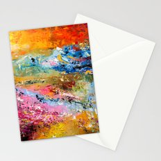LAVENDER MEADOWS AT SUNSET Stationery Cards