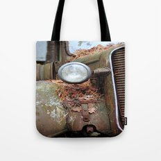 Vintage headlight Tote Bag