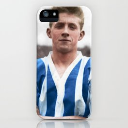 Denis Law at Huddersfield Town iPhone Case