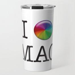 I Love Mac Travel Mug