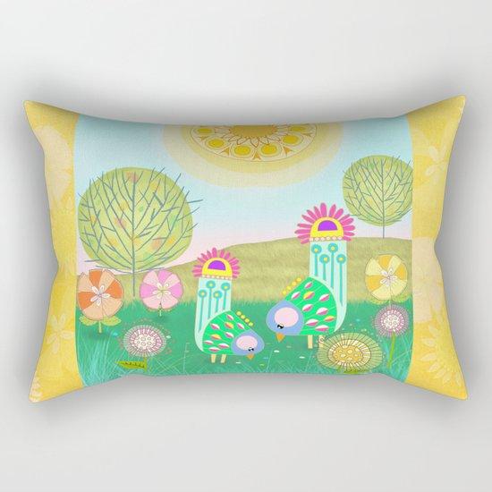 Chelsea Birds Rectangular Pillow