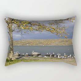 Autumn Day in the Finger Lakes II Rectangular Pillow