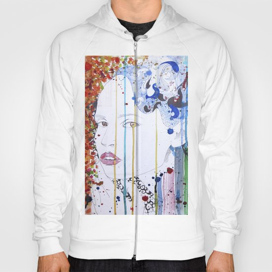in the summer garden Hoody