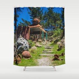 Path To The Junkyard Shower Curtain