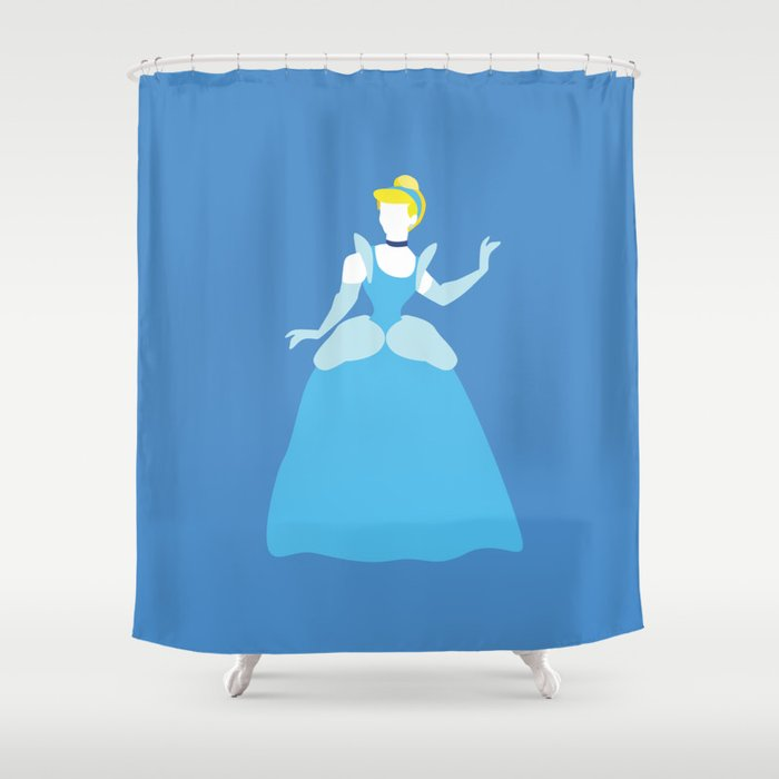Cinderella Disney Princess Shower Curtain
