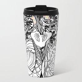 Duality (Black & White Edition) Metal Travel Mug