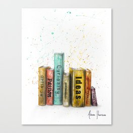 Books of Life Canvas Print