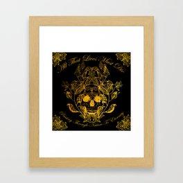 All That Lives Framed Art Print