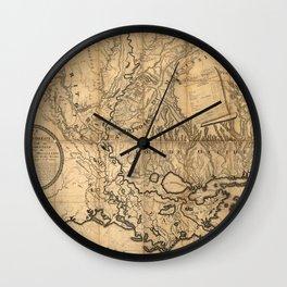 Lousiana 1806 Wall Clock