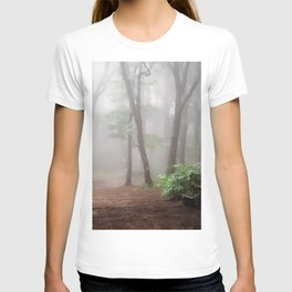 Misty Woods #adventure #photography T-shirt