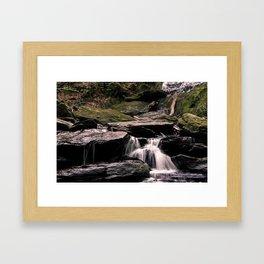 Tannery Falls Framed Art Print