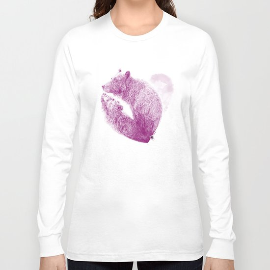 Bear your Heart Long Sleeve T-shirt