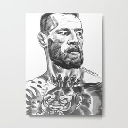 The Notorious Metal Print
