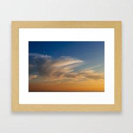 Clouds_2 Framed Art Print