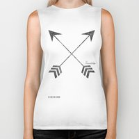 friendship Biker Tanks featuring Friendship by Adel