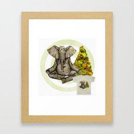 concentrate Framed Art Print