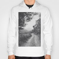 road Hoodies featuring ROAD by Yigit C.