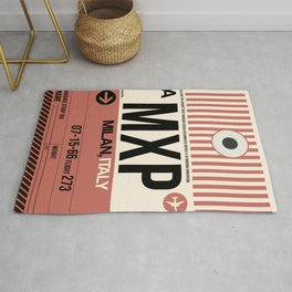 MXP Milan Luggage Tag 1 Rug