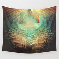 lovecraft Wall Tapestries featuring kryypynng dyyth by Spires