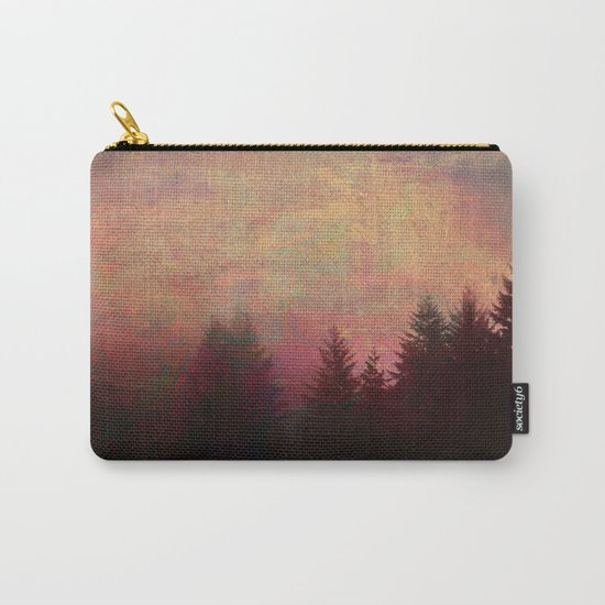 Repose, Abstract Landscape Trees Sky Carry-All Pouch