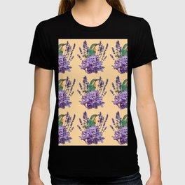 Kingfisher Flower Bouquet T-shirt