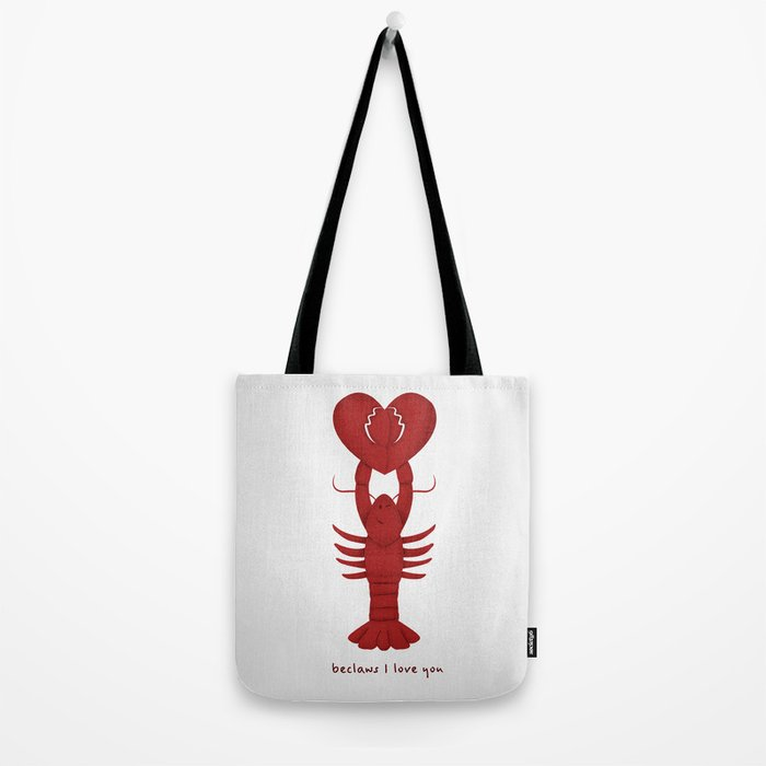 Loving Lobster Tote Bag