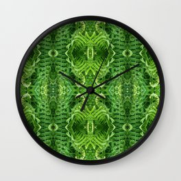 Pattern 45 - Fern Beauty Wall Clock