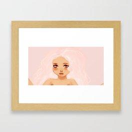 Love Doll Framed Art Print
