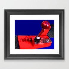 Rudolphs Nose Framed Art Print
