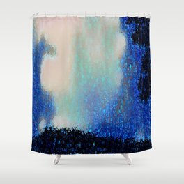 Those Blue Remembered Hills Again Shower Curtain