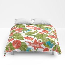 Origami Garden Comforters