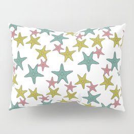 starfish tropical print Pillow Sham
