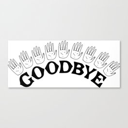 Goodbye III Canvas Print