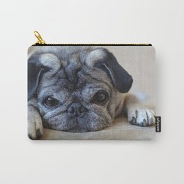 Holly the Pug Carry-All Pouch