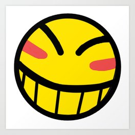 Cowboy Bebop - Hacker Smile Art Print