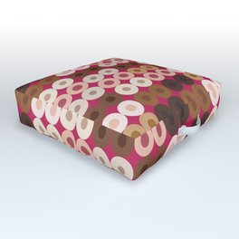 Breast Wishes (pink) Outdoor Floor Cushion